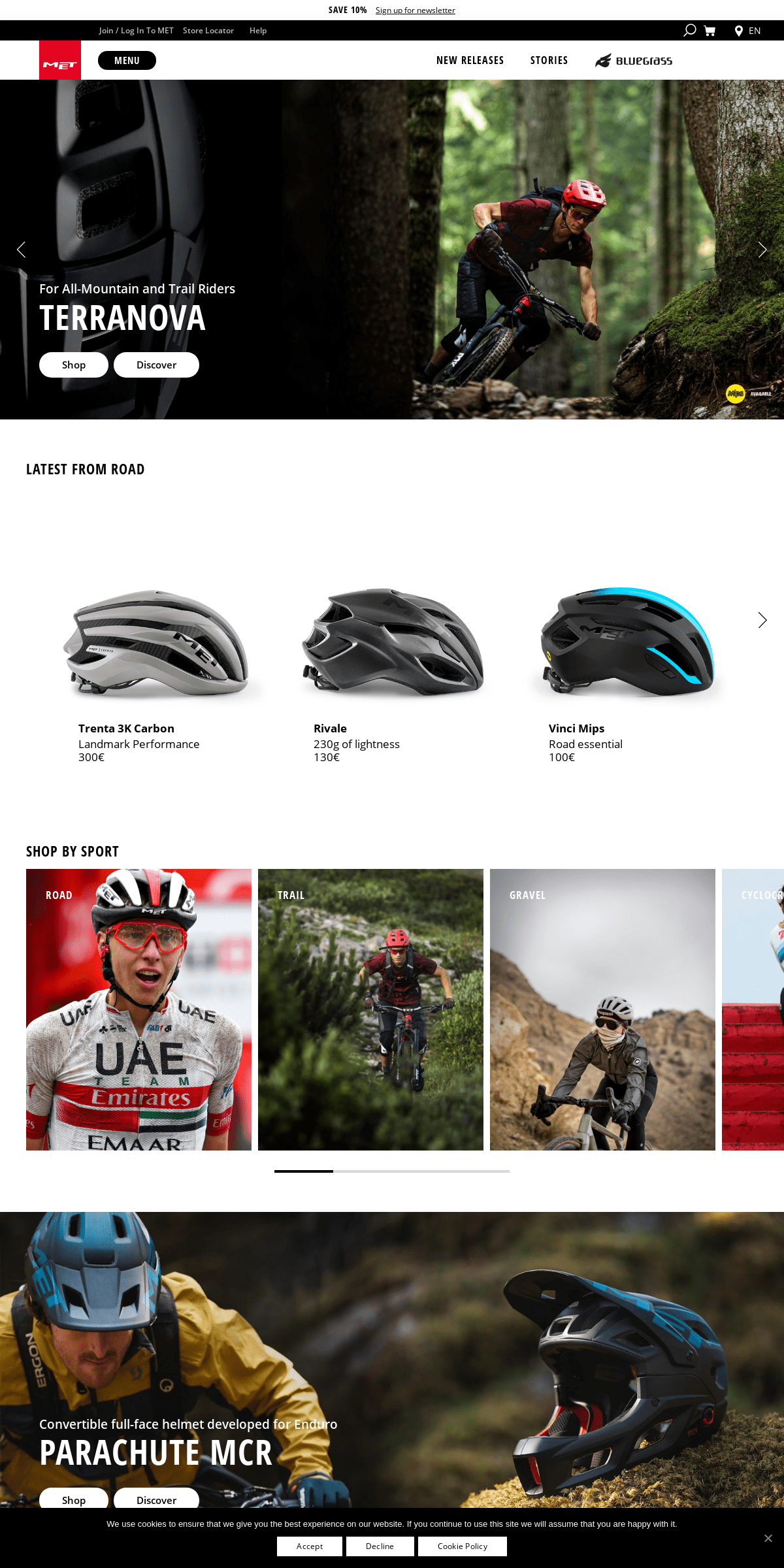 MET Helmets - Bike Helmets for Road, MTB, Recreational and Kids.
