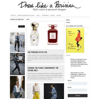 ArchiveBay.com - dresslikeaparisian.com - Personal Shopper Paris - Dress like a Parisian -