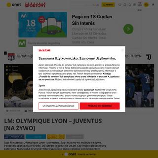 Olympique Lyon – Juventus NA ŻYWO- relacja i wynik live online. Liga Mistrzów - Liga Mistrzów