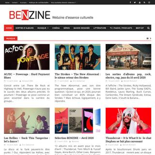 Home - Benzine Magazine
