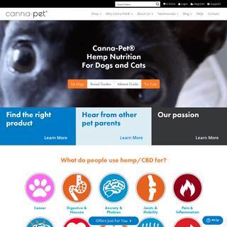 Hemp & CBD For Pets - Canna-Pet®