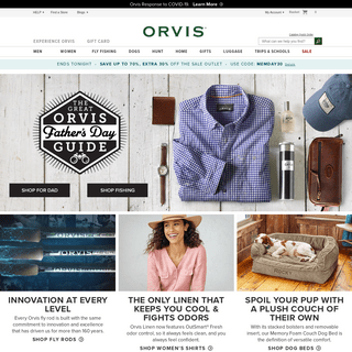Orvis- Quality Clothing, Fly-Fishing Gear, & More Since 1856.
