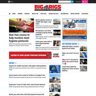Trucks and Truckies News - Big Rigs