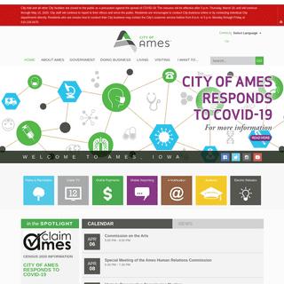 City of Ames, IA - Home