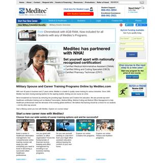 MeditecMyCAA and Career Training Programs by Meditec