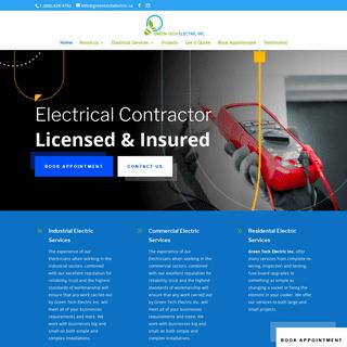 Home - Green Tech Electric Inc.