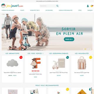 Jeujouet.com - Boutique de Jeux et Jouets de Qualité