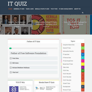 ArchiveBay.com - itquiz.in - Information Technology Quiz Questions - TCS IT Wiz Questions - All IT Quiz materials - IT Quiz