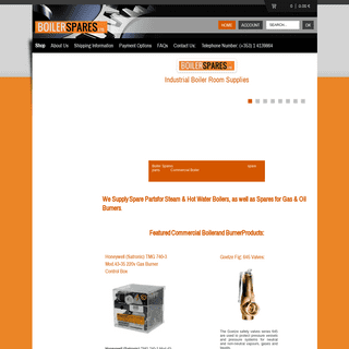 Industrial Boiler Parts - Commercial Burner Spare Parts