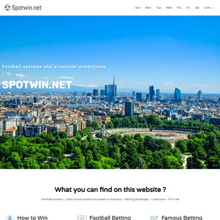 Index - Spotwin.net