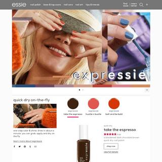 essie - Nail Colors, Nail Polish, Nail Care, Nail Art & Best Nail Tips - Essie