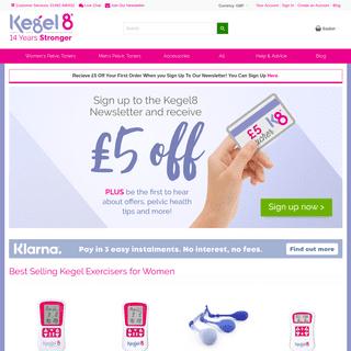 ArchiveBay.com - kegel8.co.uk - Kegel8 - The UK's Best Selling Pelvic Floor Exerciser - Kegel8