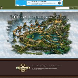 ArchiveBay.com - elvengems.com - Elvenar Gems of Knowledge – Pick up all the gems of knowledge you need to play Elvenar even better!