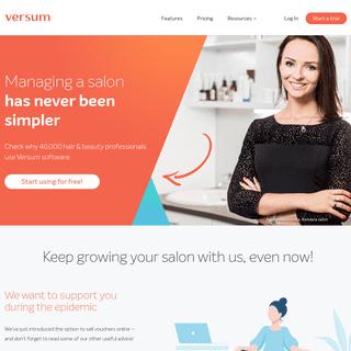 Salon management software best suited to your needs - Versum