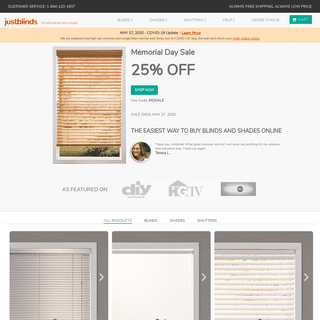 Blinds, Shades, & Shutters - Window Treatments Simplified - JustBlinds