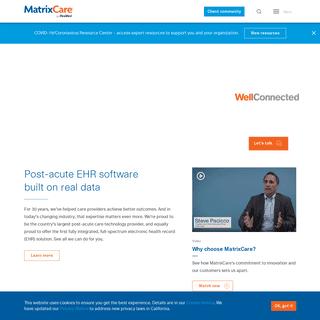 ArchiveBay.com - matrixcare.com - Long-term post-acute EHR software solutions - MatrixCare