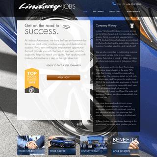 Lindsay Jobs - Lindsay Automotive - Columbus OH