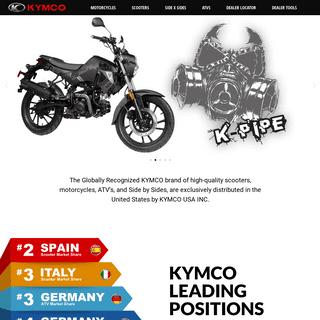 Welcome - Kymco USA