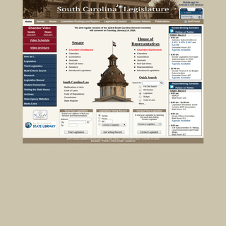 ArchiveBay.com - scstatehouse.gov - South Carolina Legislature Online