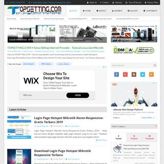 Topsetting.com • Solusi Sistem Billing Internet Provider