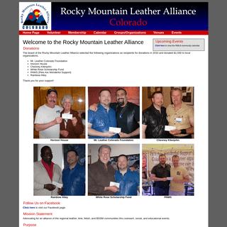 Rocky Mountain Leather Alliance