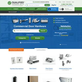 Commercial Door Hardware, Knobs, Locks & More