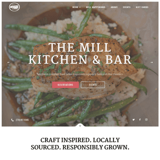 Roswell Restaurants - Historic Roswell Restaurant - The Mill Kitchen and Bar