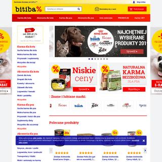 bitiba - Twój internetowy sklep zoologiczny- produkty i karma dla zwierząt