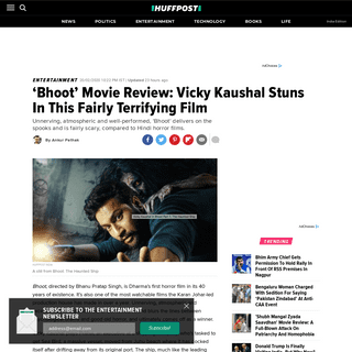 ArchiveBay.com - www.huffingtonpost.in/entry/bhoot-movie-review-vicky-kaushal-stuns-in-this-fairly-terrifying-film_in_5e4ea55cc5b6cf3dcfbc2d15 - 'Bhoot' Movie Review- Vicky Kaushal Stuns In This Fairly Terrifying Film - HuffPost India