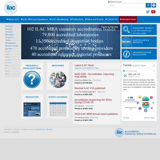 International Laboratory Accreditation Cooperation