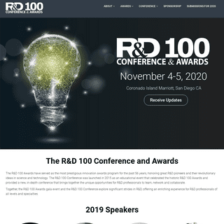 ArchiveBay.com - rd100conference.com - Home - R&D 100 Conference and Awards