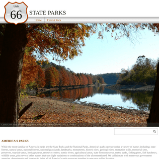 America's Parks- State Parks, National Parks, along with all of the other parks - AmericasParks.com