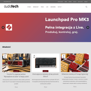 Home - Audiotech - profesjonalne rozwiązania audio