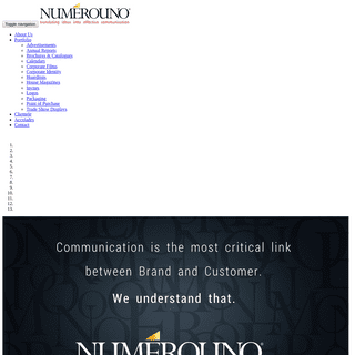 Numerouno translating ideas in to effective communication