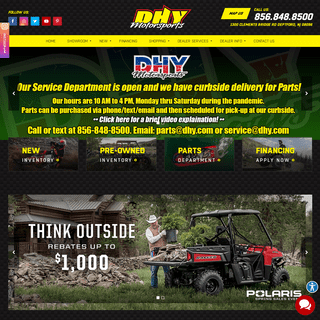 DHY Motorsports - New & Used Motorcycles, Service, and Parts in Deptford, NJ, near Blackwood, and Glendora
