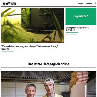 Startseite - TagesWoche