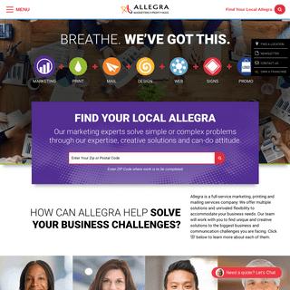 Marketing & Print Solutions - Allegra Marketing Print Mail