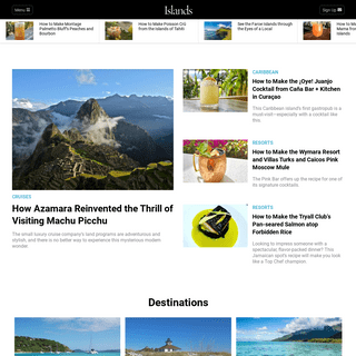 Island Vacations & Travel, Islands to Live On, Island Resorts - Islands