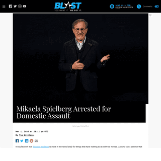 Mikaela Spielberg Arrested for Domestic Assault