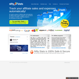 Nifty Stats - Affiliate Stats Tracker - Affiliate Software