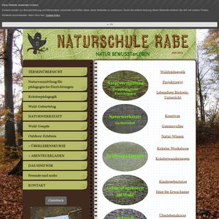 Unser Angebot - Naturschule Rabe