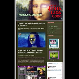 Scott Lund's Mona Lisa Code solves Leonardo da Vinci mystery