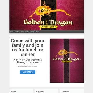 Golden Dragon - Oriental Cruisine