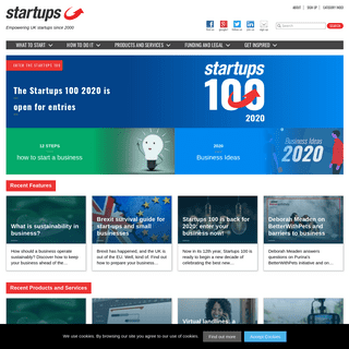 Startups.co.uk - Business ideas, funding help and growth advice