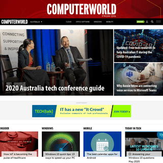 ArchiveBay.com - techworld.com.au - IT news, careers, business technology, reviews - Computerworld