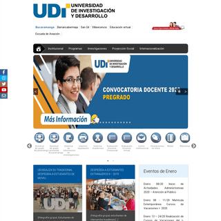 Universidad de Investigación y Desarrollo - UDI