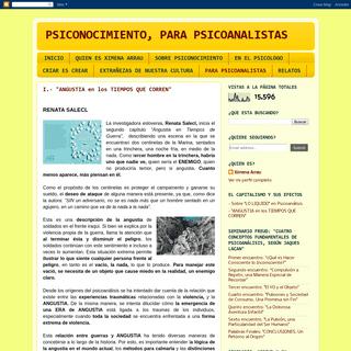 PSICONOCIMIENTO, PARA PSICOANALISTAS