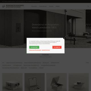 Homepage - Startseite - BS Bodensteckdosen Systemtechnik