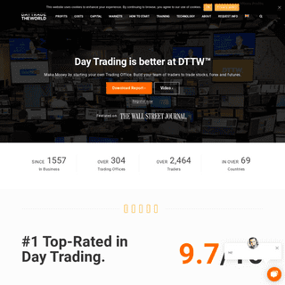 Day Trading Stocks, Futures and Forex – DTTW™