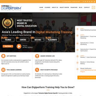 Digital Marketing Training Courses & Certification - Digiperform